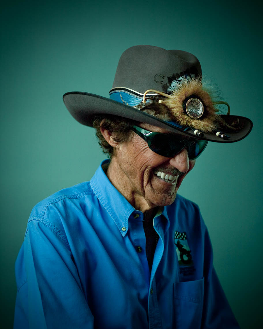 Portrait of Richard Petty, NASCAR Icon ©geoffwood